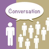 social media is about having a conversation as a means of connecting