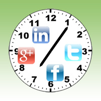 find the best times to post to your social media netwroks