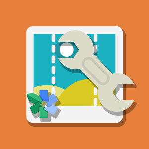 Adjusting photos with Snapseed